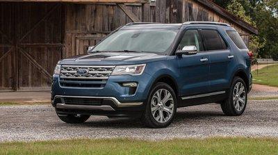 Ngoại thất xe Ford Explore 2020