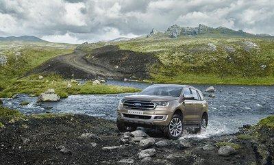 Ngoại thất của Ford Everest 2019.