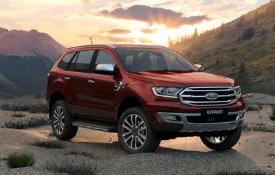 Ford Everest 2019 tại Việt Nam.
