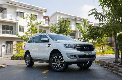 Ngoại thất của Ford Everest 2019..