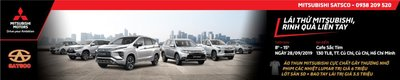 Mitsubishi Satsco triển khai chương trình trải nghiệm các dòng xe cao cấp tại Củ Chi a3
