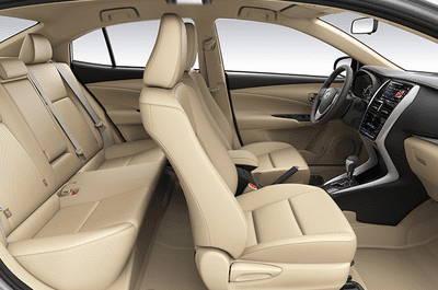 Nội thất Toyota Vios 2019.
