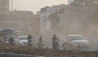 Ô nhiễm không khí tại Hà Nội ảnh hưởng thế nào đối với xe hơi? a1