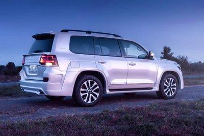 Ngắm bản độ hầm hố nhưng vẫn giữ chất sang chảnh của Toyota Land Cruiser a2