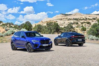 BMW X5 M và X6 M 2020