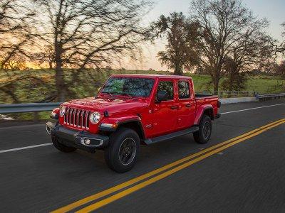 6. Jeep Gladiator 2020.