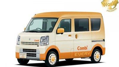 Suzuki Every Combi là sản phẩm của sự hợp tác giữa 2 hãng