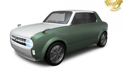 Suzuki Waku Spo Concept - Xe coupe vừa hiện đại vừa cổ điển
