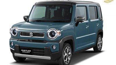 Suzuki Hustle toát lên sự thú vị