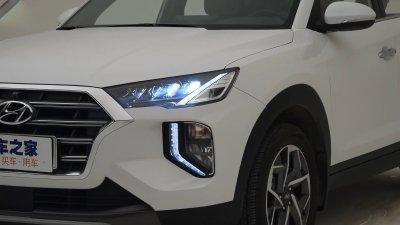 Mê mẩn với Hyundai Tucson All New dành cho Trung Quốc a