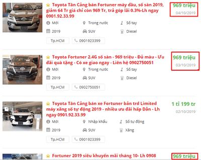 Đại lý Toyota đang ưu đãi, giảm giá những mẫu xe nào? a1