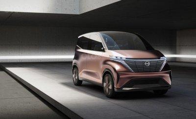 Chính thức hé lộ Nissan IMk Concept màu Rose Gold Iphone