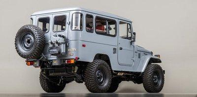 Sau quá trình phục chế, Toyota Land Cruiser nâng giá ngang siêu xe a2