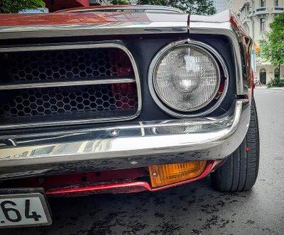 """Tóm gọn """"ngựa hoang"""" Ford Mustang Grande 1971 trên phố Sài Gòn a10"""