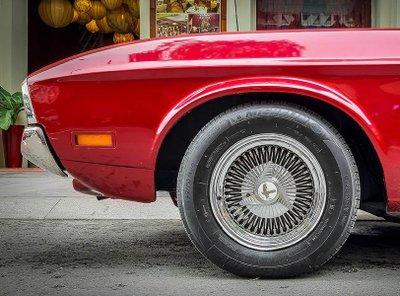 """Tóm gọn """"ngựa hoang"""" Ford Mustang Grande 1971 trên phố Sài Gòn a13"""