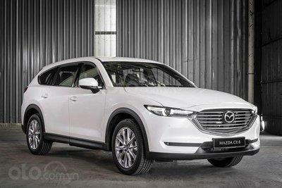 Mazda CX-8 2019 được giới thiệu tại Malaysia với 2 động cơ