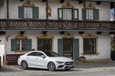 Mercedes-Benz CLA 250 và AMG CLA 35 2020 sẽ cập bến thị trường Úc trong quý I/2020.