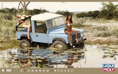 Ngắm mẫu nữ hoang dã bên xe hơi trong bộ lịch 2020 - Ảnh 7.