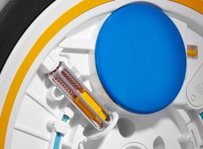 C.A.R.E cũng có bơm ly tâm tích hợp vào bánh xe.