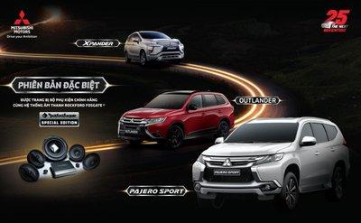 Chính thức: Mitsubishi Xpander, Outlander và Pajero Sport bản đặc biệt ra mắt a1