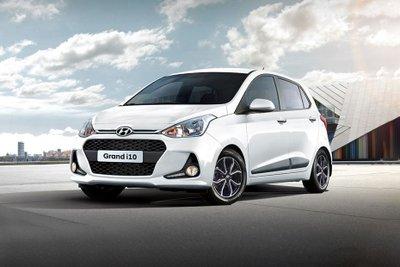 Top 5 xe ô tô giá rẻ nhất Việt Nam hiện nay - Hyundai Grand i10.