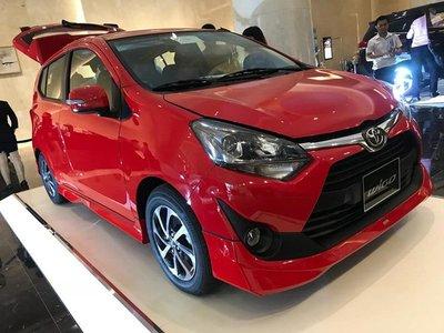 Giá phụ kiện chính hãng của Toyota Wigo.
