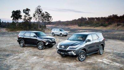 Toyota Fortuner 2020 bổ sung công nghệ an toàn tiêu chuẩn