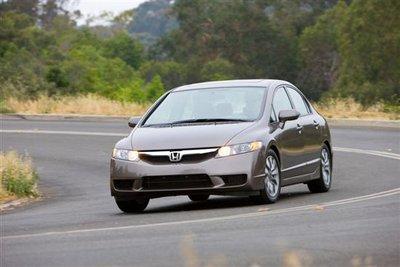 Honda Civic 2011 cũng thuộc diện triệu hồi lần này.