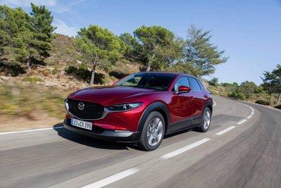 Mazda CX-30 sẽ cung cấp hệ dẫn động tất cả các bánh từ khi ra mắt tại Mỹ và Canada.