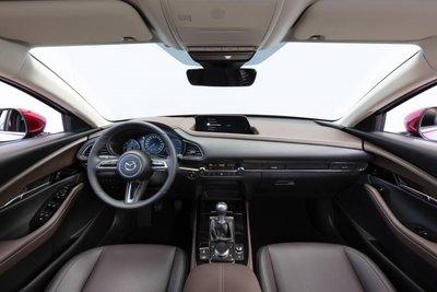 Không gian nội thất của Mazda CX-30.