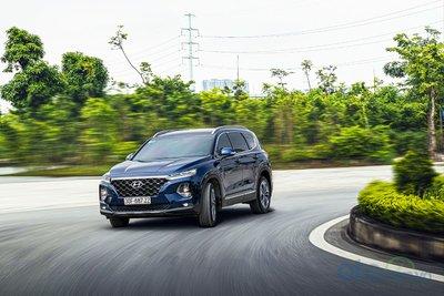 Lại thêm chiếc Hyundai Santa Fe biển ngũ quý 9 tại Hà Nội a3