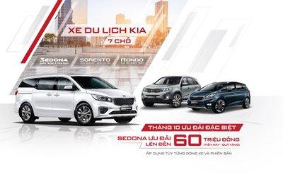 Thaco ưu đãi xe Kia đồng loạt trong tháng 10/2019 cao nhất 60 triệu đồng a1