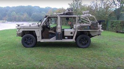 Defenture GRF 5.12 Platform - Xe quân sự đa năng giá 420.000 USD A1