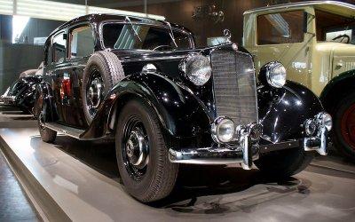 ĐỘNG CƠ DIESEL: Mercedes-Benz 260D (1936).