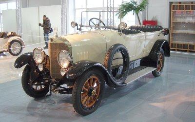 HỆ THỐNG SIÊU NẠP: Mercedes (1921).