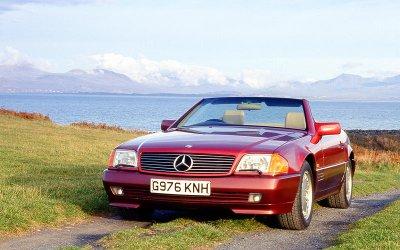 THANH CHỐNG LẬT TỰ ĐỘNG: Mercedes-Benz SL-Class (1989).