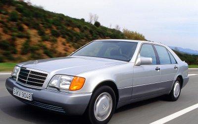 KÍNH CÁCH NHIỆT: Mercedes-Benz S-Class (1991).