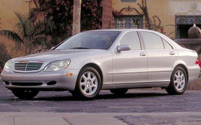 HỆ THỐNG KIỂM SOÁT HÀNH TRÌNH THÍCH ỨNG: Mercedes-Benz S-Class (1998).
