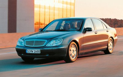 GHẾ MASSAGE: Mercedes-Benz S-Class (2000).