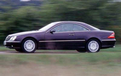 HỆ THỐNG TREO TỰ ĐỘNG THÔNG MINH: Mercedes-Benz CL-Class (1999).