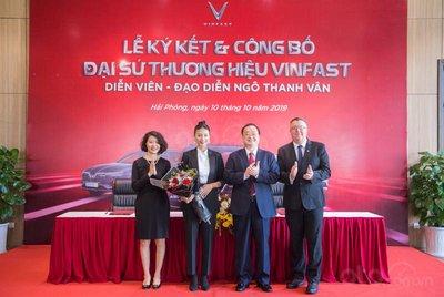 Ngô Thanh Vân trở thành đại sứ thương hiệu của VinFast.