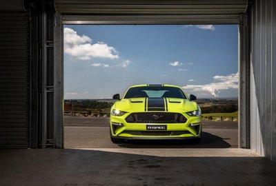 Mustang R-Spec được sản xuất dựa trên sự hợp tác của Ford Úc với Herrod Performance.