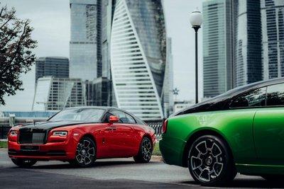 Rolls-Royce ra mắt bộ sưu tập đặc biệt  Wraith Black & Bright.