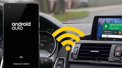 Android Auto được hỗ trợ kết nối không dây với điện thoại Samsung Galaxy và Note