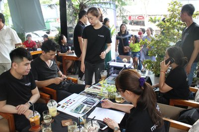 Cận cảnh không khí sôi động tại sự kiện cà phê lái thử Oto.com.vn 11