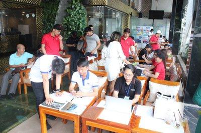 Cận cảnh không khí sôi động tại sự kiện cà phê lái thử Oto.com.vn 13