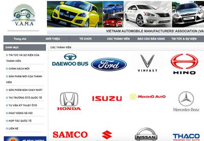 Vinfast chính thức trở thành thành viên Hiệp hội các nhà sản xuất ô tô Việt Nam .