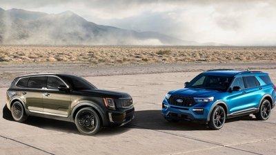 Kia Telluride 2020 hay Ford Explorer 2020