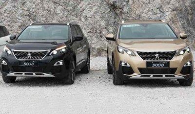 Peugeot 3008 và 5008 là bộ đôi SUV sang ăn khách của thương hiệu Pháp.