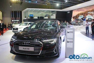 Audi A6 thế hệ mới vừa ra mắt thị trường Việt.